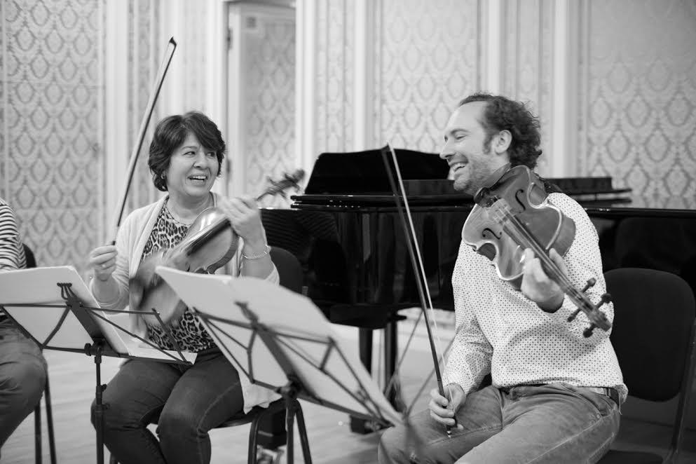 Mihaela Martin și Răzvan Popovici la repetiții Credit foto: Șerban Mestecăneanu