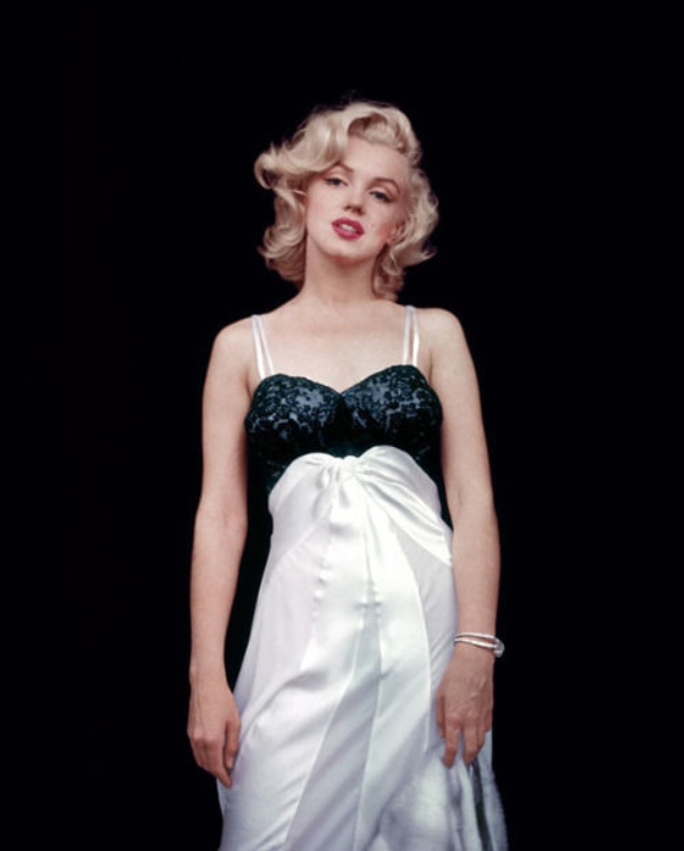 Milton H. Greene - Marilyn Monroe, Black Sitting, 1956 Mouche Gallery