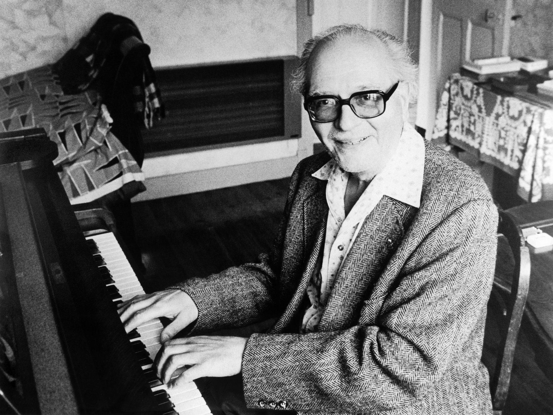 Compozitorul francez Olivier Messiaen